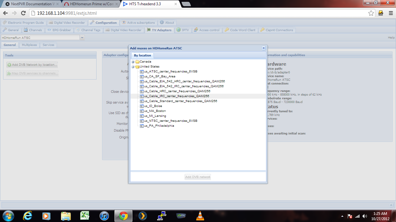LINUX HDHOMERUN DRIVERS FOR WINDOWS 7