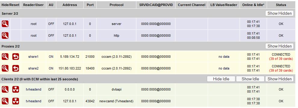 oscam client add c line cccam protocol