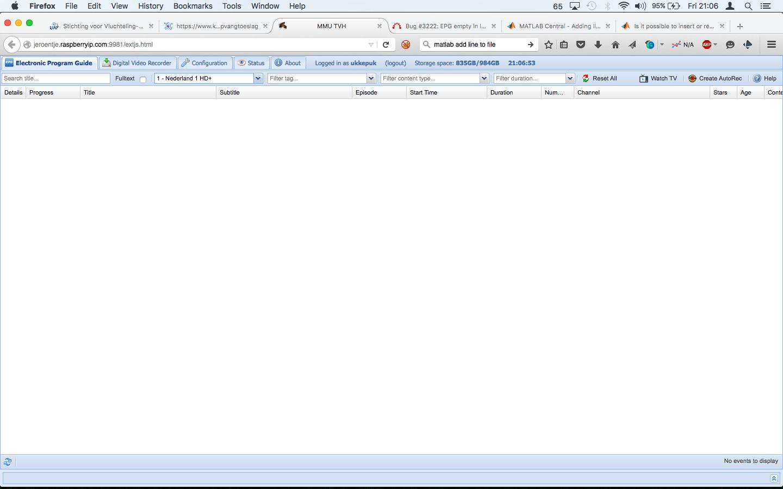 Bug #3222: EPG empty in latest version from git: HTS Tvheadend 4 1