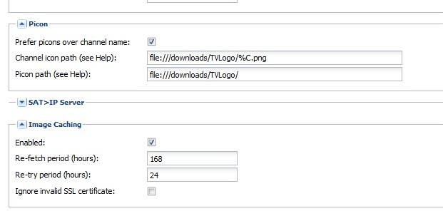 Simple Example - PICON and XMLTV Epg - Tvheadend