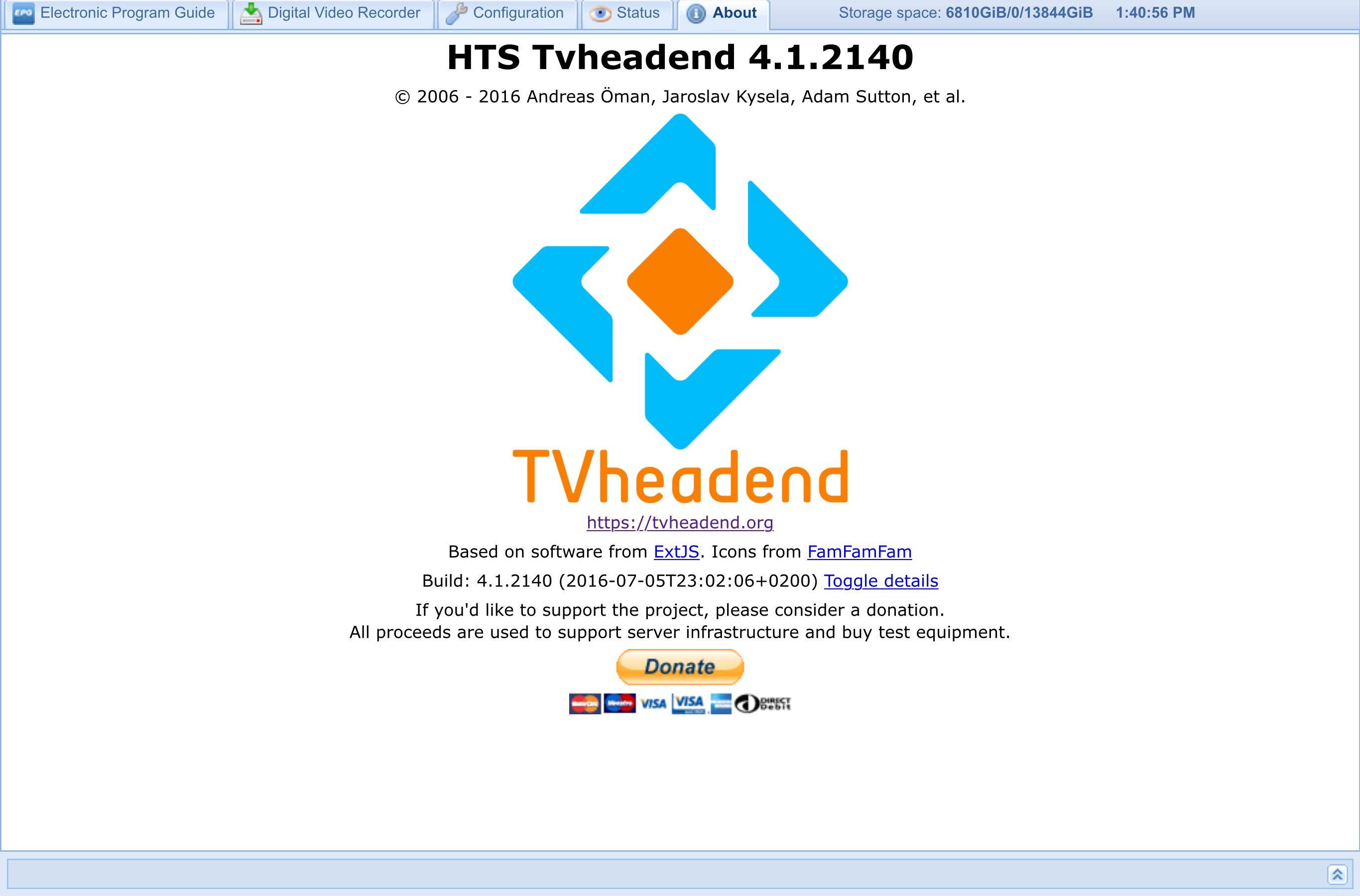 Bug #3770: Crashes of TVheadend V  4 1 1943 on Synology - Tvheadend