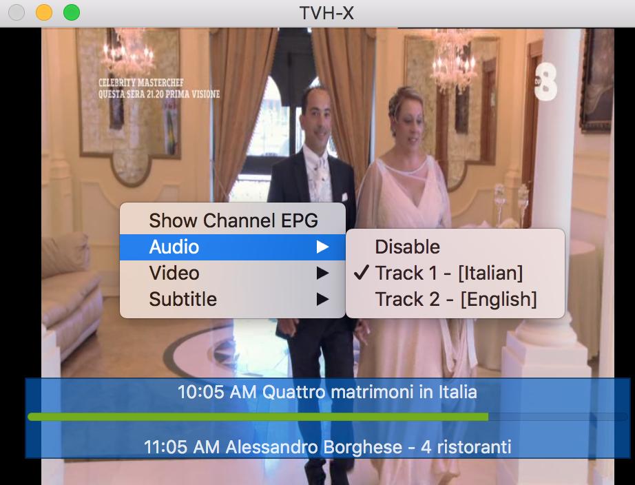 New Tvheadend macOS client - Tvheadend