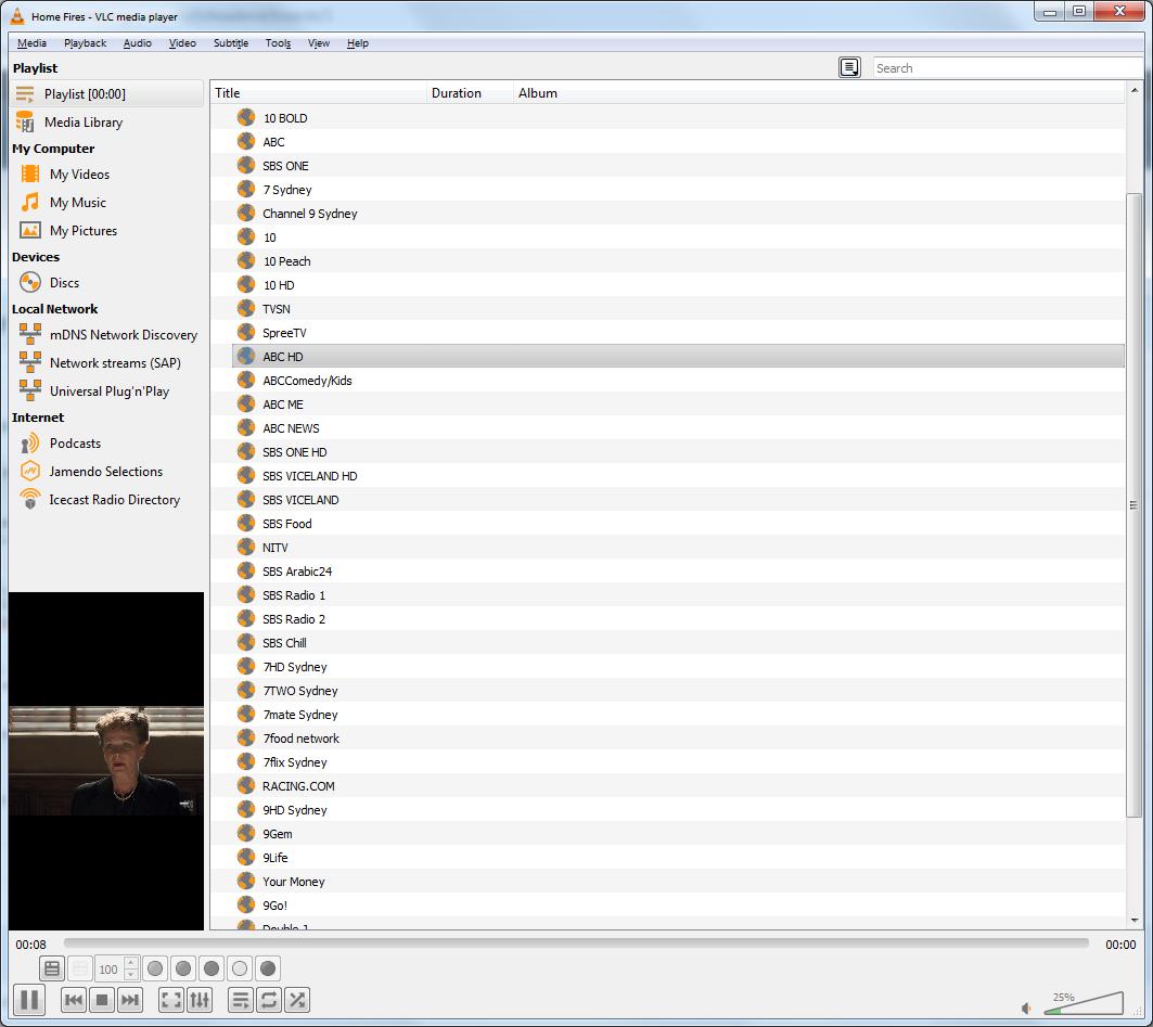 Stream Playback (FFMPEG/FFPLAY) - Tvheadend